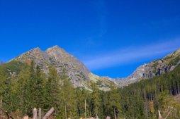 Predné Solisko je turisticky přístupný vrchol v hřebeni Solisek.