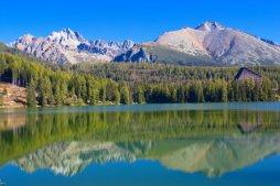 Patria je turisticky nepřístupný vrchol v hřebení Bašt.