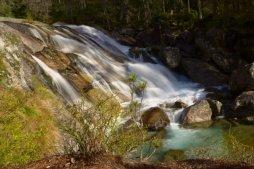 Dlhý vodopád je jeden z vodopádů na Studeném potoce.